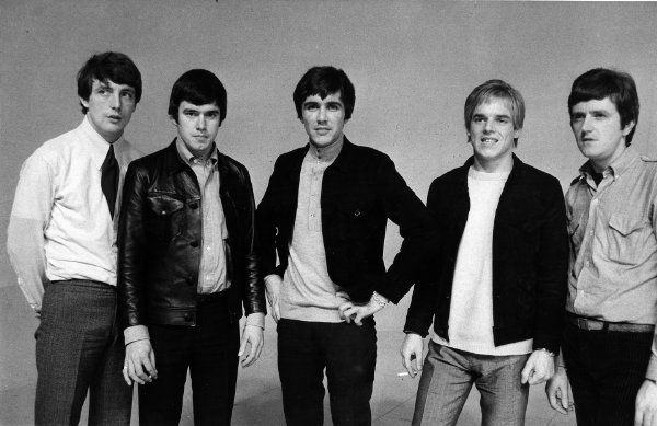 The Dave Clark Five band members.
